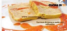 Masterchef 3 - Terrina di pane e mele con calvados ricetta Juan Lema