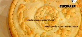 La Prova del Cuoco - Rustico di ricotta e salame ricetta Messeri