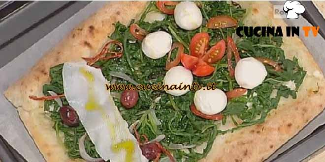 La Prova del Cuoco - Binario di pizza al forno ricetta Sorbillo
