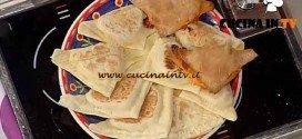 La Prova del Cuoco - Calzone di piada con verdure autunnali e formaggi ricetta Spisni