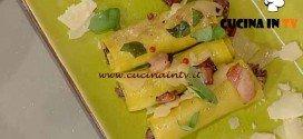 La Prova del Cuoco - Cannelloni al radicchio e ricotta ricetta Moroni