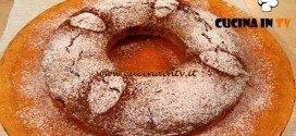 Cotto e Mangiato - Ciambellone agli amaretti ricetta Tessa Gelisio