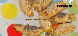 La Prova del Cuoco - ricetta Cornettini salati