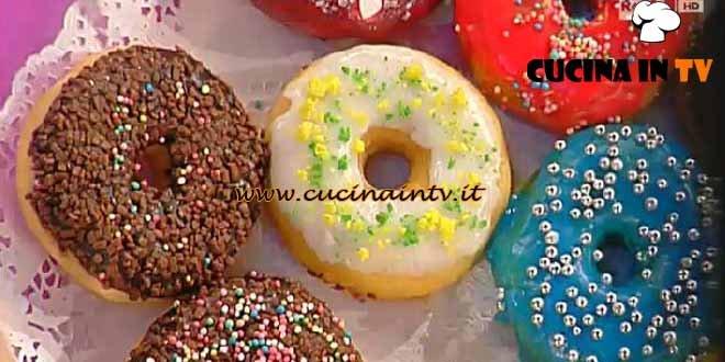 Dolci dopo il Tiggì - ricetta Donuts
