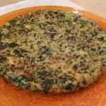 Cotto e Mangiato - Frittata con cavolo nero patate e funghi ricetta Tessa Gelisio