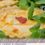 Bake Off Italia 2 - ricetta Mini quiche di pasta brisè con ripieno di speck e fontina di Stephanie