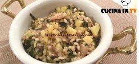 Cotto e Mangiato - Orzo ai funghi e spinaci ricetta Tessa Gelisio