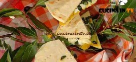 La Prova del Cuoco - Piadina con catalogna zucca stufata e bufala ricetta Barzetti