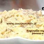 La Prova del Cuoco - Reginelle con ragù di maiale panna e marsala ricetta Clerici