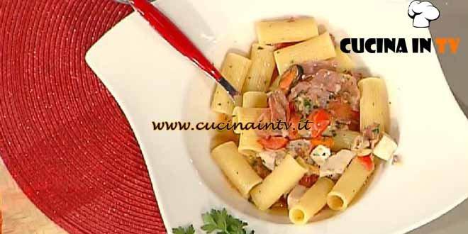 La Prova del Cuoco - ricetta Rigatoni all'amatriciana di mare