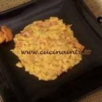 Cotto e Mangiato - Risotto zafferano e finferli ricetta Tessa Gelisio
