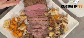 La Prova del Cuoco - Roast-beef con panzanella autunnale ricetta Cattelani