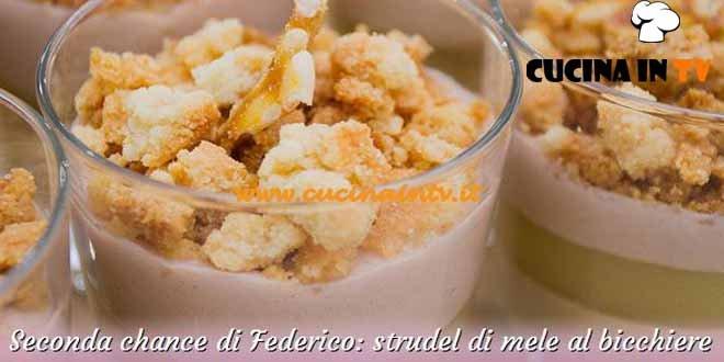 Bake Off Italia 2 - ricetta Strudel di mele al bicchiere di Federico