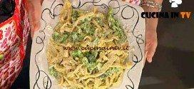 La Prova del Cuoco - Tagliatelle al papavero con broccoletti al formaggio ricetta Moroni
