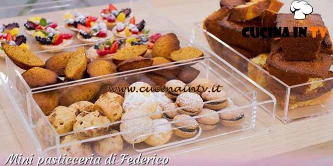Bake Off Italia 2 - ricetta Tartellette alla frutta e baci di dama di Federico