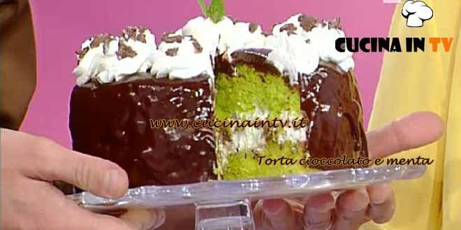 Dolci dopo il Tiggì - ricetta torta cioccolato e menta