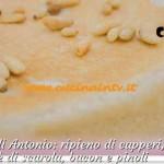 Bake Off Italia 2 - ricetta Torta salata capperi olive acciughe patè di scarola bacon e pinoli di Antonio