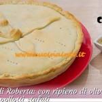 Bake Off Italia 2 - ricetta Torta salata con olive pinoli acciughe e cipollotti stufati di Roberta