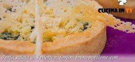 Bake Off Italia 2 - ricetta Tortini con ricotta e spinaci di Federico