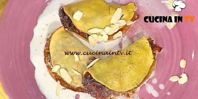 La Prova del Cuoco - ricetta Crespelle al radicchio e fontina