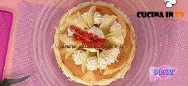 Dolci dopo il Tiggì - ricetta Charlotte di pandoro al limoncello