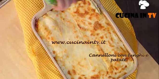 La Prova del Cuoco - Cannelloni con funghi e patate ricetta Spisni