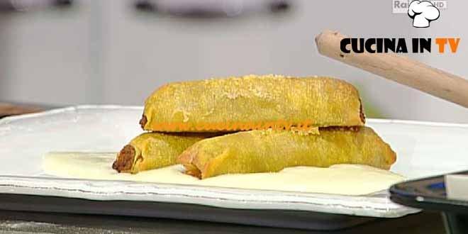 La Prova del Cuoco - Cannelloni ripieni di maiale e verza con crema di patate ricetta Ribaldone