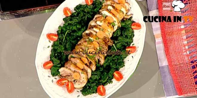 La Prova del Cuoco - Cappone ripieno light ricetta Flachi