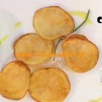 La Prova del Cuoco - ricetta Chips di patate con salsa al curry ed erba cipollina