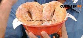 La Prova del Cuoco - Ciambelle dolci di patate ricetta De Riso