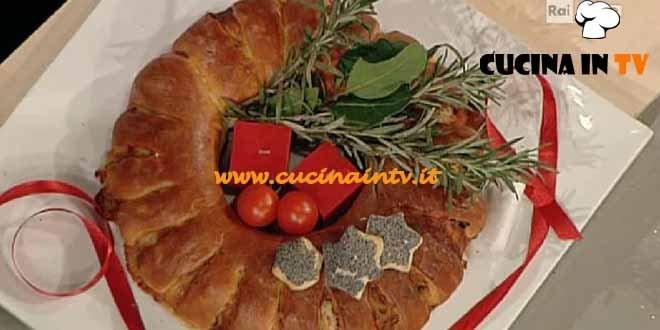 La Prova del Cuoco - Corona di Natale ricetta Cattelani