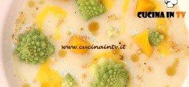 La Prova del Cuoco - Crema di patate con zucca e cialde di grana e arachidi ricetta Barzetti