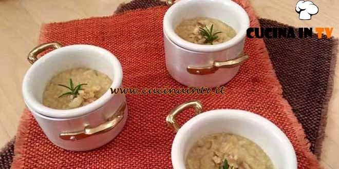 Cotto e Mangiato - Crema di porri e castagne ricetta Tessa Gelisio