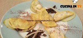 Cotto e Mangiato - Fagottini pere e cioccolato ricetta Tessa Gelisio