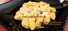 Cotto e Mangiato - Gnocchi di zucca con provola affumicata ricetta Tessa Gelisio