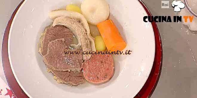 La Prova del Cuoco - Gran bollito misto e salsa verde ricetta Messeri
