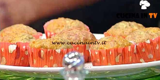 La Prova del Cuoco - ricetta Muffin integrali bicolore
