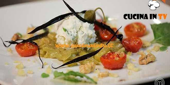 Masterchef 4 - ricetta Mediterraneo di Viola