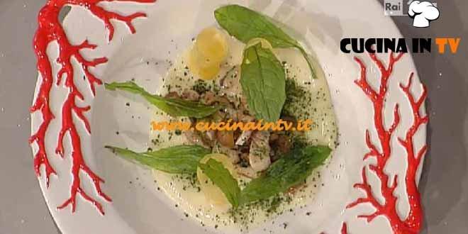 La Prova del Cuoco - Millefoglie di patate pesciacci castagne e fonduta ricetta Pascucci
