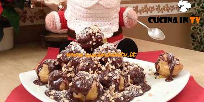 Cotto e Mangiato - Montagna di bignè e cioccolato ricetta Tessa Gelisio