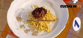 La Prova del Cuoco - ricetta Cacio e pepe con il carciofo alla giudia