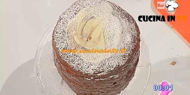 Dolci dopo il Tiggì - ricetta Panettone farcito al cioccolato e rum