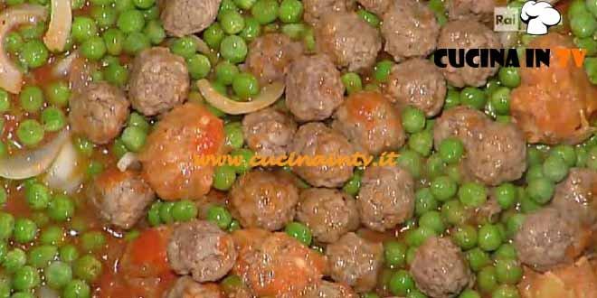 La Prova del Cuoco - Polpette con piselli ricetta Moroni