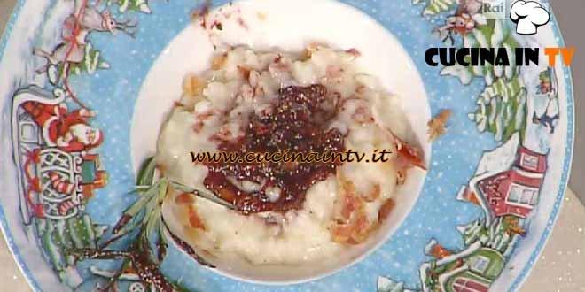 La Prova del Cuoco - Risotto al Sangiovese con fichi glassati ricetta Moroni