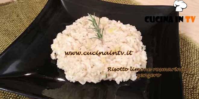 Cotto e Mangiato - Risotto limone rosmarino zenzero ricetta Tessa Gelisio