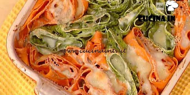 La Prova del Cuoco - Rosette bicolori ai formaggi ricetta Spisni