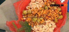 La Prova del Cuoco - Salmone con patate dolci al forno ricetta Bianchi