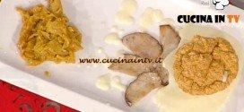 La Prova del Cuoco - Soufflé di porcini con fonduta di Castelmagno e uova strapazzate ricetta Moroni
