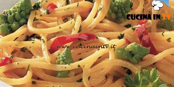Masterchef 3 - ricetta Spaghetti aglio olio e broccoletti romani