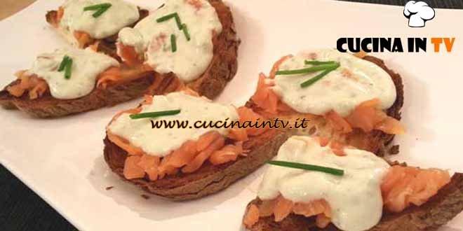 Cotto e Mangiato - Tartare di trota zola ed erba cipollina ricetta Tessa Gelisio